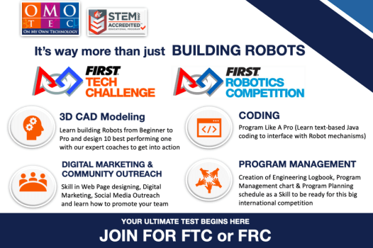 Join for FTC and FRC
