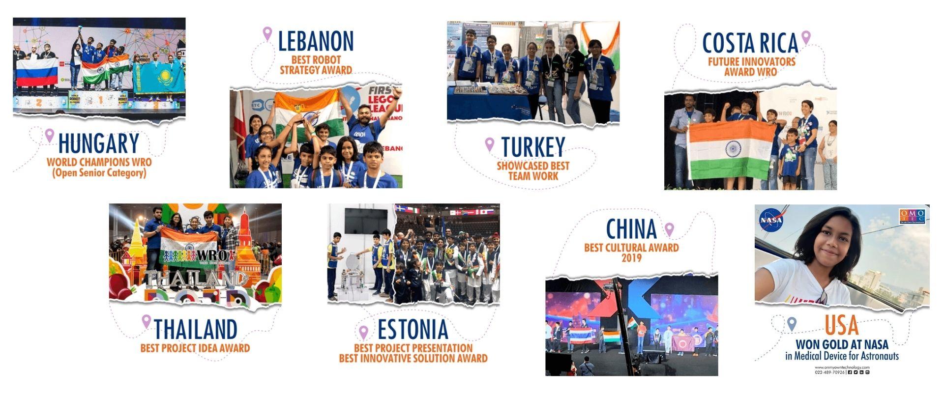 OMOTEC Global Achievements