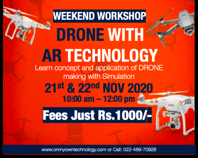 Drone with AR Technology Workshop for Kids