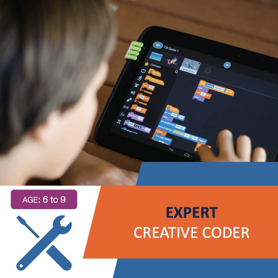 Online Creative Coder Course