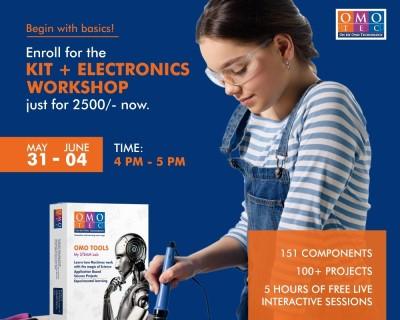Kit + Electronics Workshop for Kids 2021