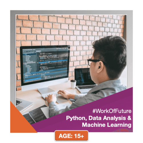 Python, Data Analysis and Maching Learning Training for School Students