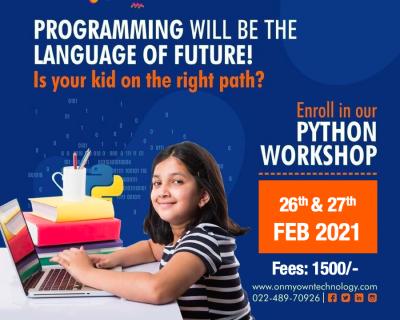 Python workshop for kids Online