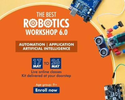 Best Robotics Summer Workshop for Kids 2021