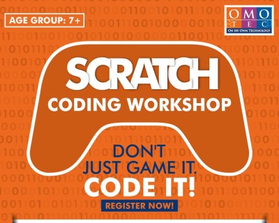 SCRATCH Coding Online Workshop for school kids